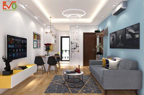 Y tưởng thiết kế nội thất căn hộ nhỏ 2