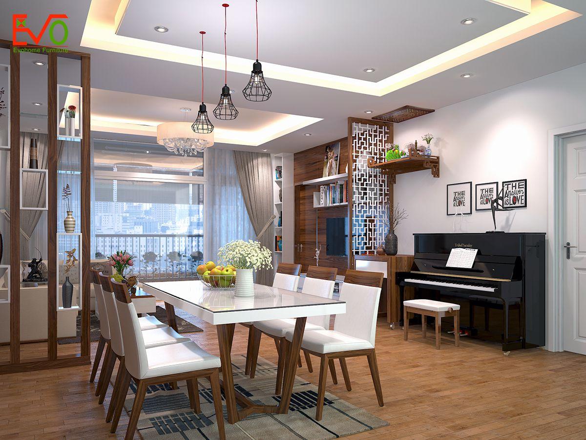 Lựa chọn gỗ công nghiệp hay gỗ tự nhiên để hoàn thiện nội thất căn hộ chung cư 1