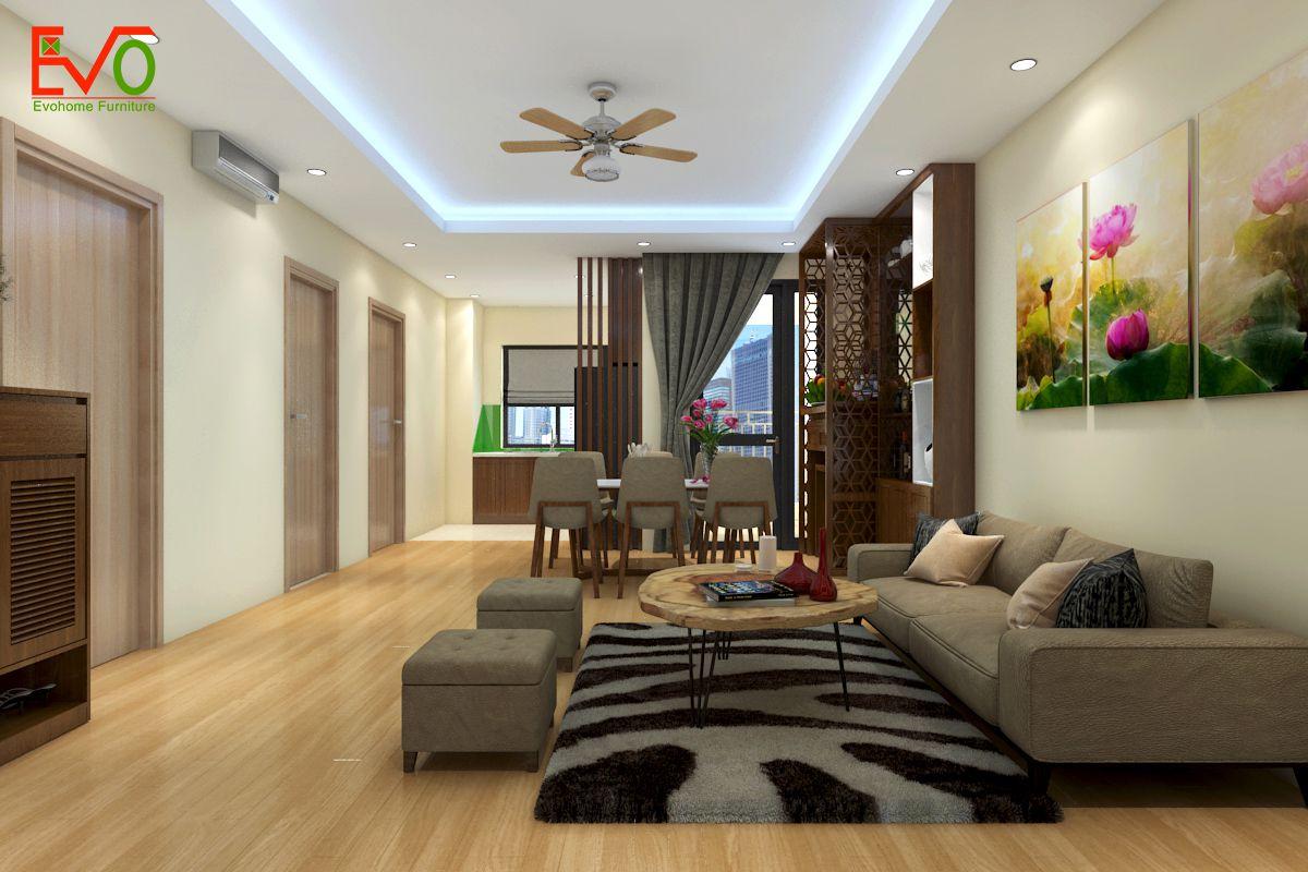 Y tưởng thiết kế nội thất căn hộ nhỏ