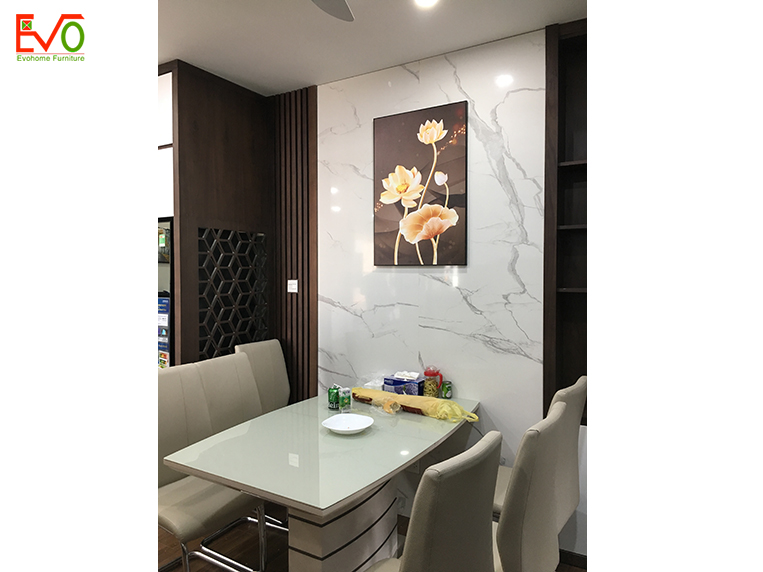 thi công nội thất trọn gói căn hộ chung cư Bohemia – Lê Văn Thiêm 9