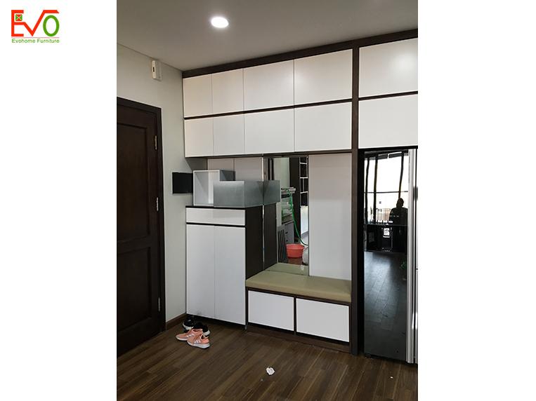 thi công nội thất trọn gói căn hộ chung cư Bohemia – Lê Văn Thiêm 01
