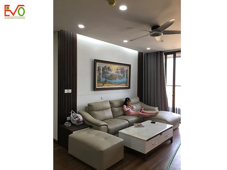 thi công nội thất trọn gói căn hộ chung cư Bohemia – Lê Văn Thiêm 3-1