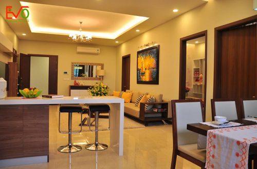 Thi công nội thất căn hộ nhẹ nhàng, đơn giản, tinh tế02