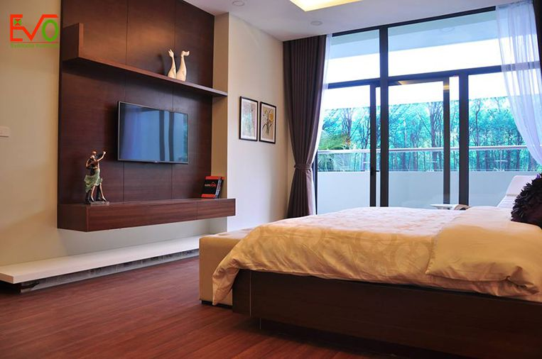 Thi công nội thất phòng ngủ Master đơn giản 2
