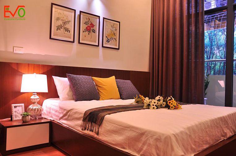 Thi công nội thất phòng ngủ phụ đơn giản