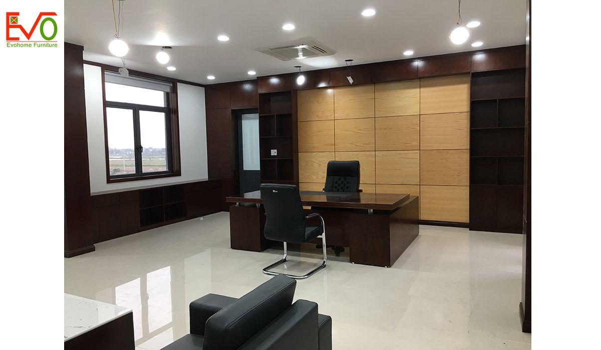 thi công nội thất văn phòng trọn gói cho Anfico04