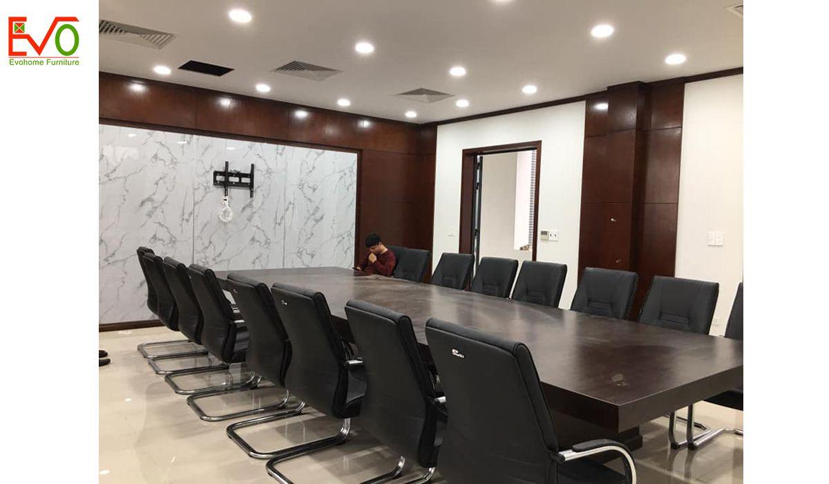 thi công nội thất văn phòng trọn gói cho Anfico