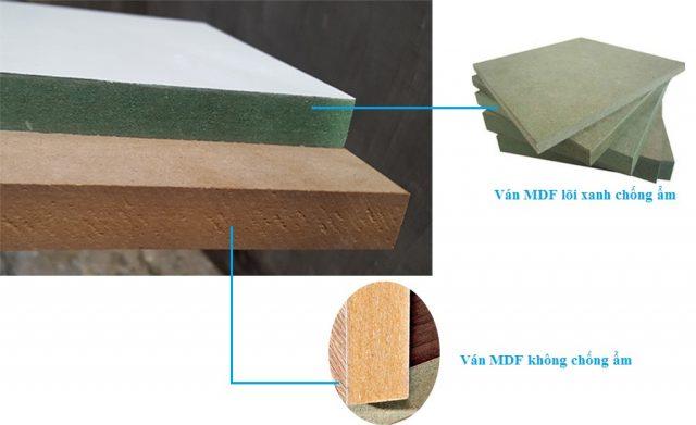 Nên dùng gỗ MFC Hay Mdf phủ melamin thi công nội thất