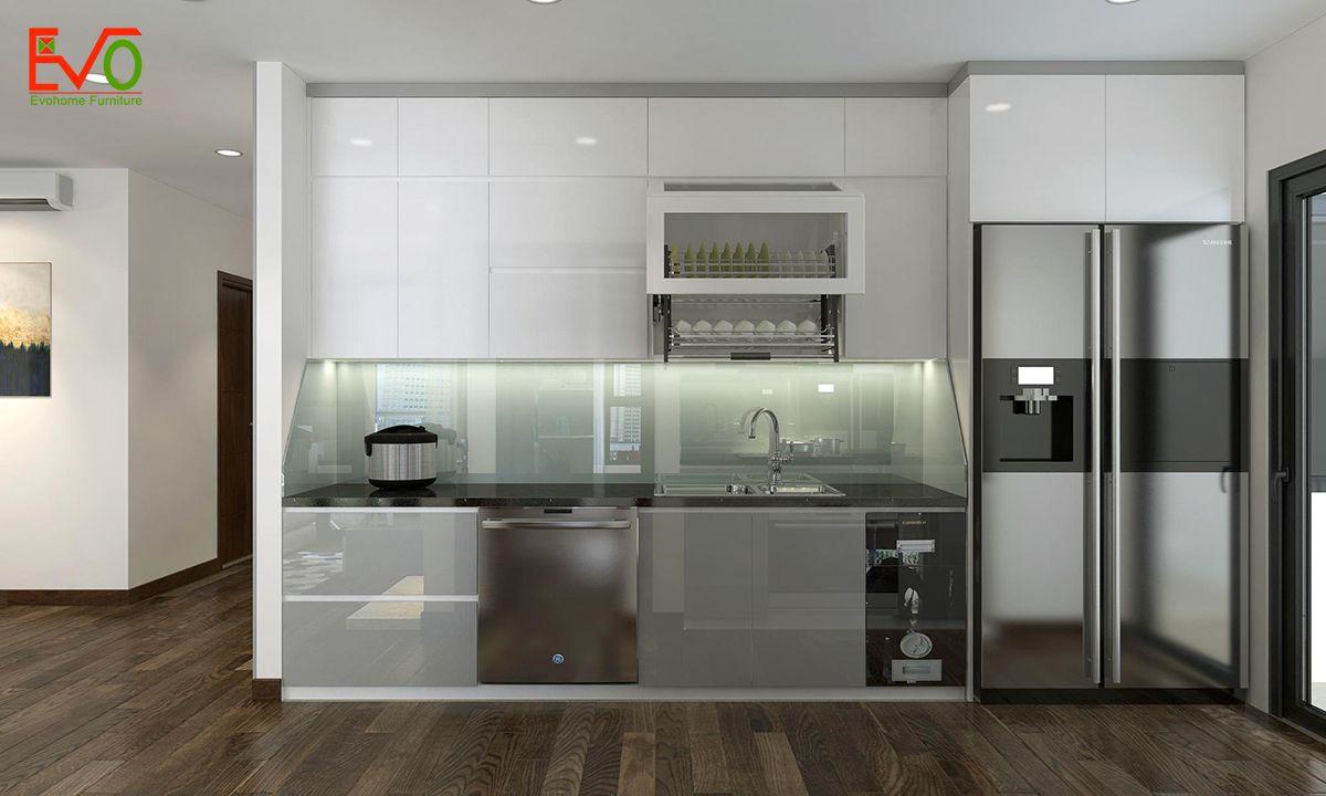 thiết kế nội thất căn hộ chung cư Green pearl - 378 Minh Khai phong cách hiện đại 06
