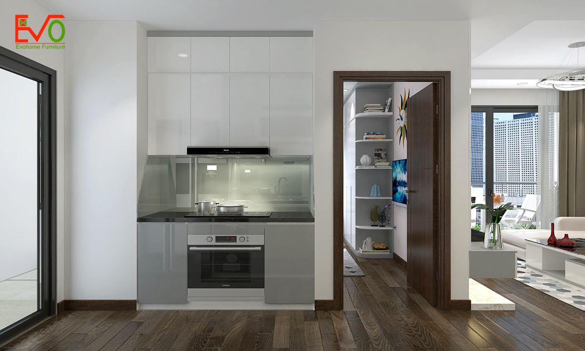 thiết kế nội thất căn hộ chung cư Green pearl - 378 Minh Khai phong cách hiện đại 07