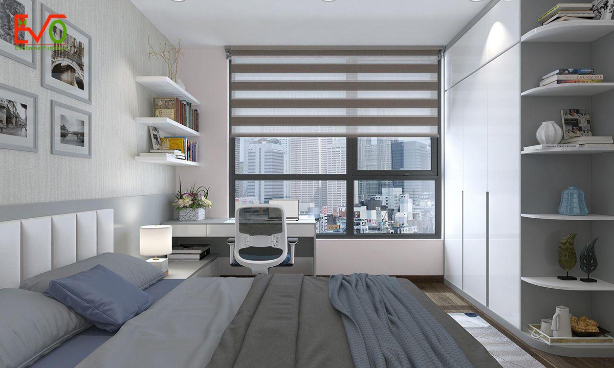 thiết kế nội thất căn hộ chung cư Green pearl - 378 Minh Khai 8