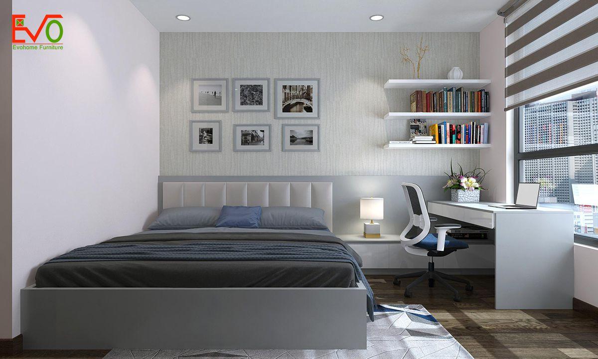 thiết kế nội thất căn hộ chung cư Green pearl - 378 Minh Khai 9