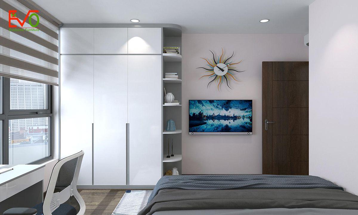 thiết kế nội thất căn hộ chung cư Green pearl - 378 Minh Khai 10