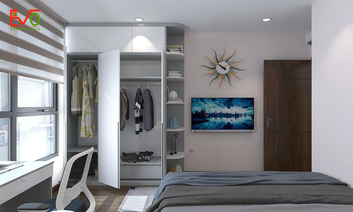 thiết kế nội thất căn hộ chung cư Green pearl - 378 Minh Khai 11