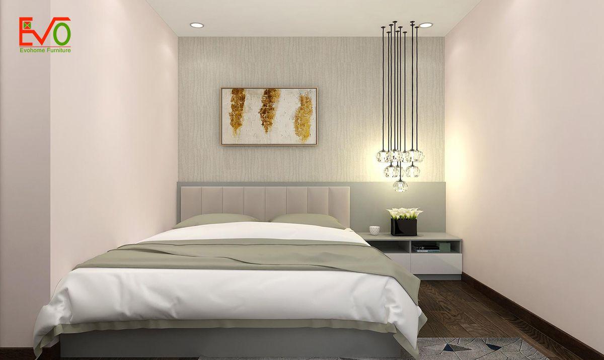 thiết kế nội thất căn hộ chung cư Green pearl - 378 Minh Khai 12