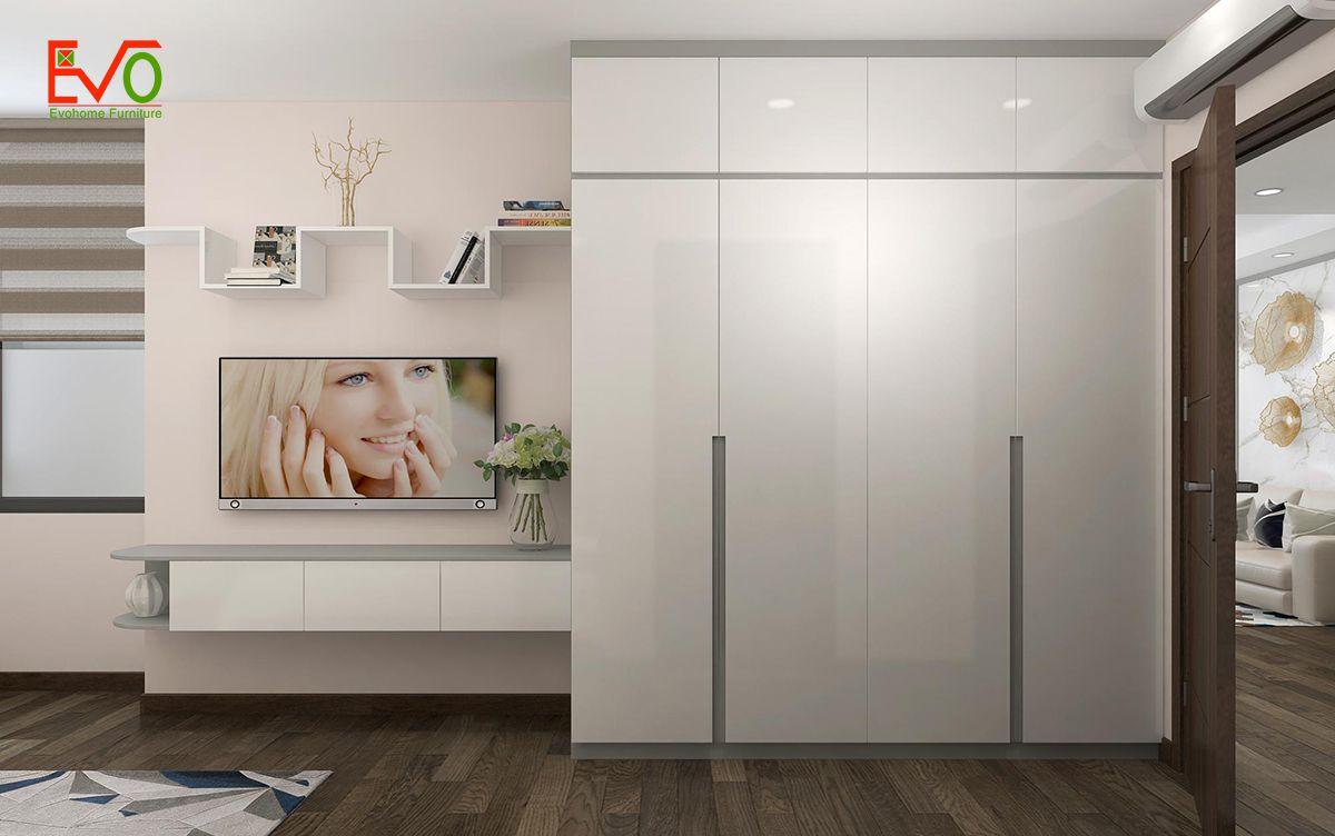 thiết kế nội thất căn hộ chung cư Green pearl - 378 Minh Khai 13
