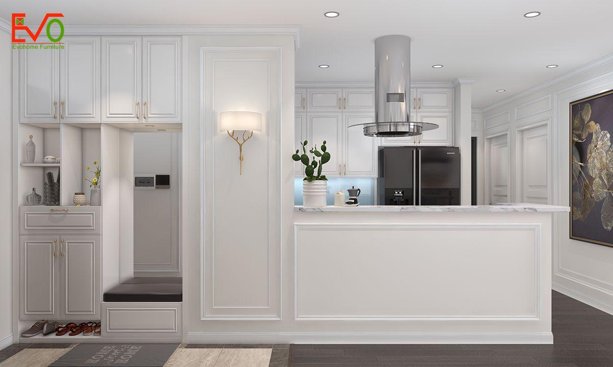 thiết kế nội thất Phòng bếp tiện nghi