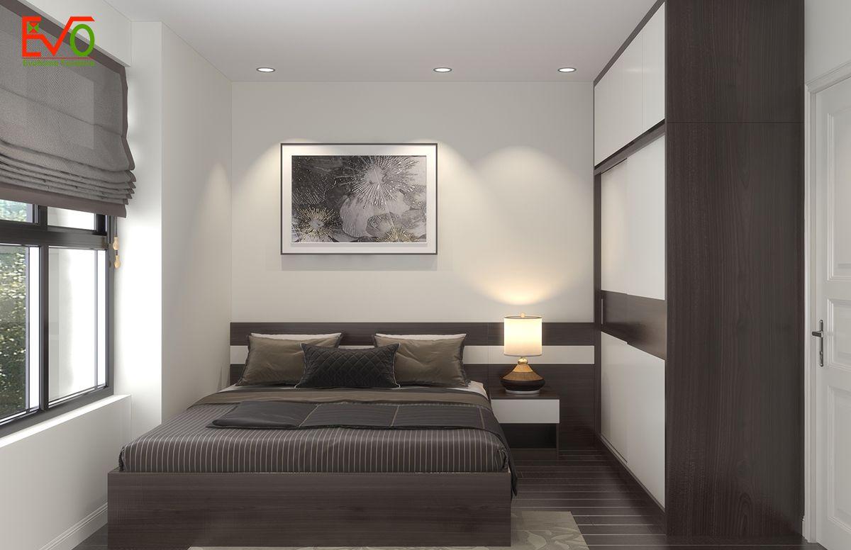 Thiết kế nội thất phòng ngủ ông bà 01