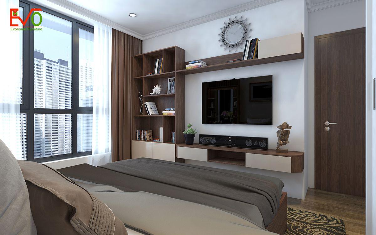 Thiết kế nội thất phòng ngủ master sang trọng 2