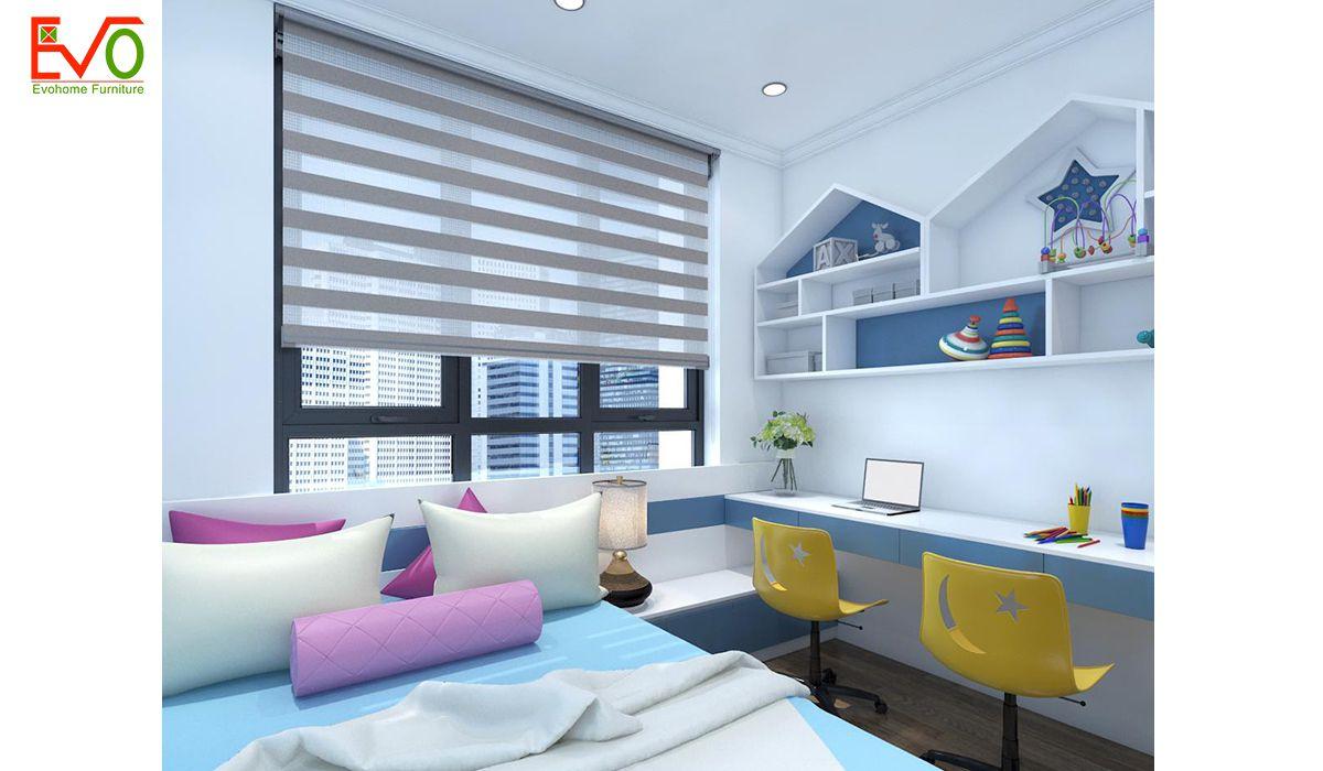 Thiết kế nội thất phòng ngủ con 2