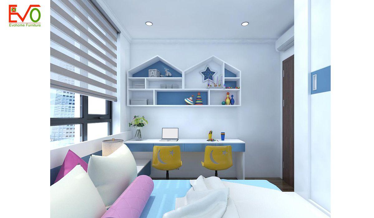 Thiết kế nội thất phòng ngủ con3