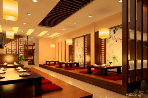 Thiết kế nội thất nhà hàng hàn quốc 03
